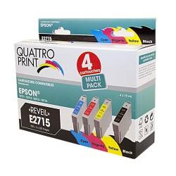 Pack 4 cartouches compatibles T27XL T2715