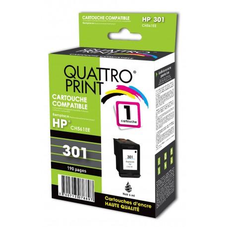 compatible HP 301XL noire