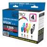 Pack 4 cartouches Quattro Print compatible Epson T1285 (Renard)