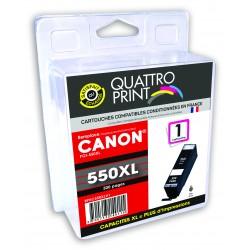2 cartouches noires compatible Canon PGI-550XL