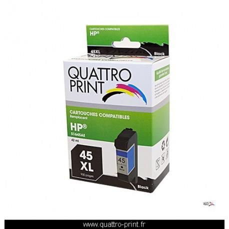 Cartouche quattro print compatible HP 45